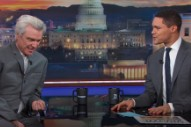 Watch David Byrne Talk Utopian Ideals, Dogs On <em>The Daily Show</em>