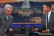 Watch David Byrne Talk Utopian Ideals, Dogs On <em>The Daily Show</em>