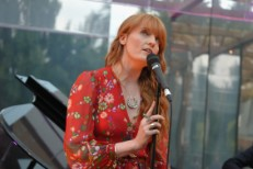 Florence Welch @ Dulwich Picture Gallery Summer Party