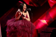 Watch Cardi B's Hits Medley And Joyous, Album-Announcing Acceptance Speech At The iHeartRadio Music Awards