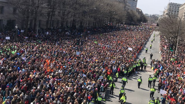 March For Our Lives Ariana Grande Sings In DC Paul McCartney Remembers John Lennon NYC