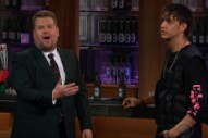 Watch Julian Casablancas&#8217; Uncomfortable Interview, Voidz Performance On <em>James Corden</em>