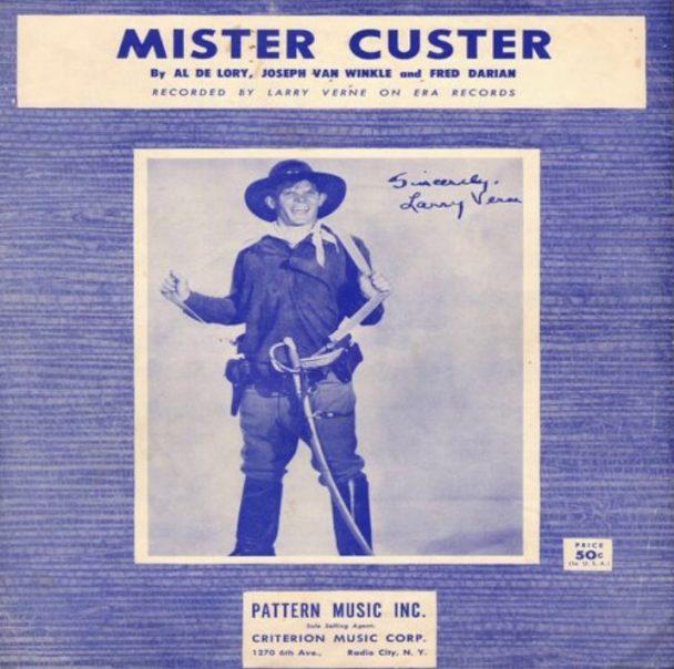 Please mr custer i don t wanna go