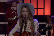 Watch Margo Price Play &#8220;Pay Gap&#8221; With A Nod To Frances McDormand&#8217;s Oscar Speech On <i>Conan</i>
