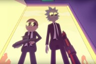 """Run The Jewels – """"Oh Mama"""" Video (Feat. Rick & Morty)"""