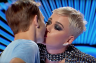 <em>American Idol</em> Contestant Gets An Unwanted First Kiss From Katy Perry