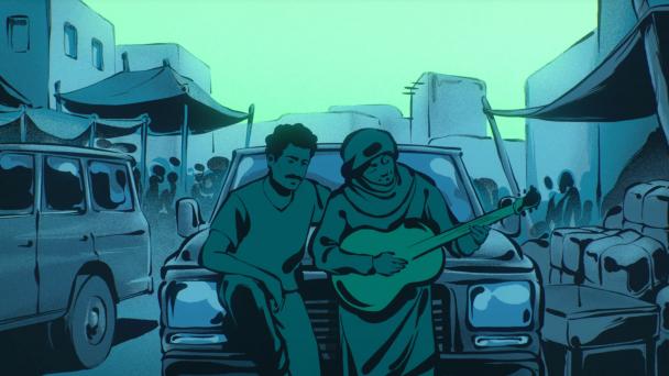 Tinariwen Nànnuflày Feat Kurt Vile Mark Lanegan Video