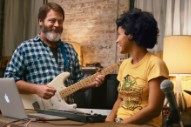 Nick Offerman's New Music Movie Features Jeff Tweedy, A Spotify Indie Playlist, And A Character Watching Mitski On YouTube
