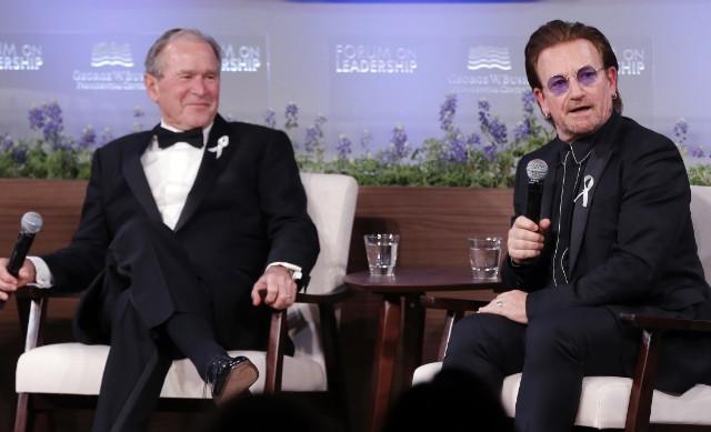 Bush Medal Bono