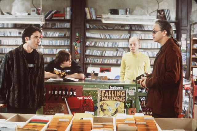 John Cusack Jack Black Todd Louiso And Tim Robbins Star In The Movie High Fidelity Phot