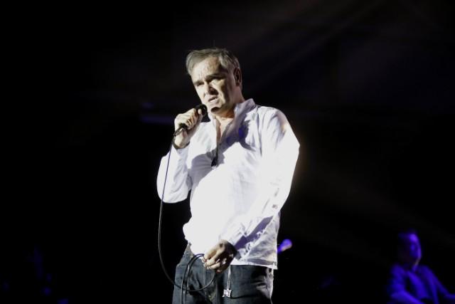 Britische Sänger Steven Patrick Morrissey gastierte auf seiner
