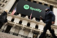 NYSE Celebrated Spotify's IPO By Accidentally Flying The Swiss Flag (Instead Of The Swedish One)