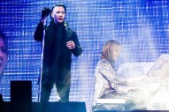 "Watch Marilyn Manson Join X Japan For ""Sweet Dreams"" At Coachella"