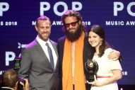 Watch Father John Misty Cover Lana Del Rey And Present Her With An ASCAP Award
