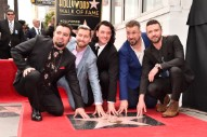 *NSYNC Reunite For Hollywood Walk Of Fame And JC Chasez Says What We're All Thinking