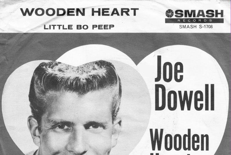 The Number Ones Joe Dowells Wooden Heart Muss I Den Stereogum