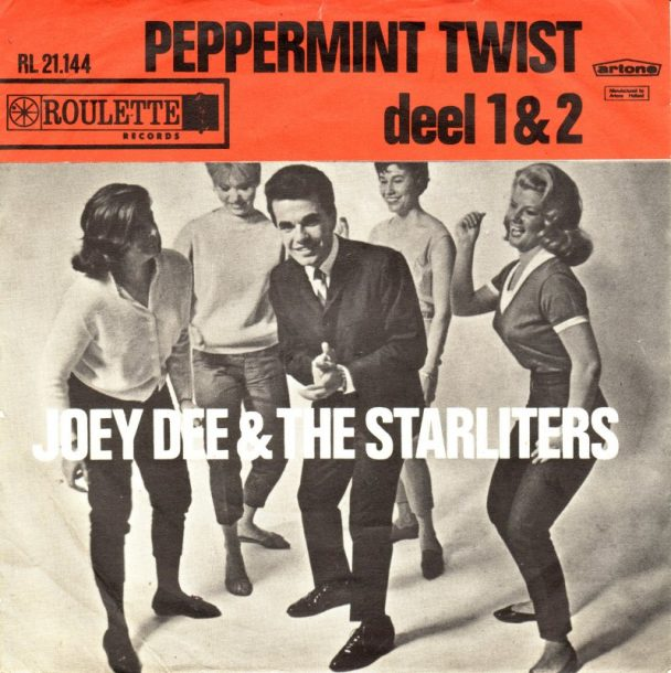 """The Number Ones: Joey Dee And The Starliters' """"Peppermint Twist – Part 1″    TYPICA(ティピカ)"""