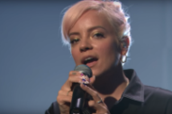 Watch Lily Allen Sing A Heartfelt, Haunted &#8220;Three&#8221; On <em>Seth Meyers</em>