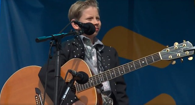 Yodeling Kid Performs at Coachella, Meets Justin Bieber