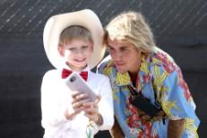 Mason Ramsey and Justin Bieber