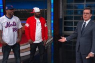 On <em>Colbert</em>, Method Man &#038; Ghostface Killah Fight &#8220;Jeff Sessions,&#8221; Meet The Real James Comey