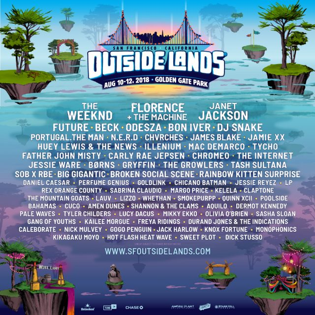 Image result for outside lands 2018