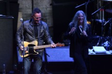 Patti Smith and Bruce Springsteen