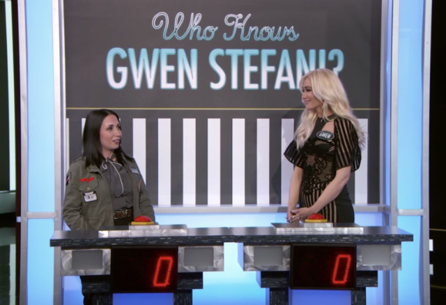 Watch Gwen Stefani Lose a Game of Gwen Stefani Trivia
