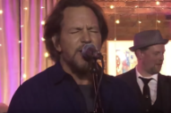 Watch Eddie Vedder's Surprise Performance With NYC Blues Band