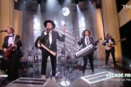 Arcade Fire Interviewed In French, Perform On <em>Quotidien</em>