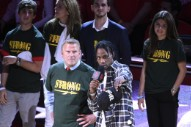 Travis Scott Honors Survivors Of Texas School Shooting At Houston Rockets Game: Watch