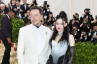 Grimes & Elon Musk Appear At Met Gala Together