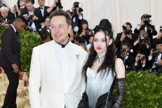 Grimes And Elon Musk At The Met Gala
