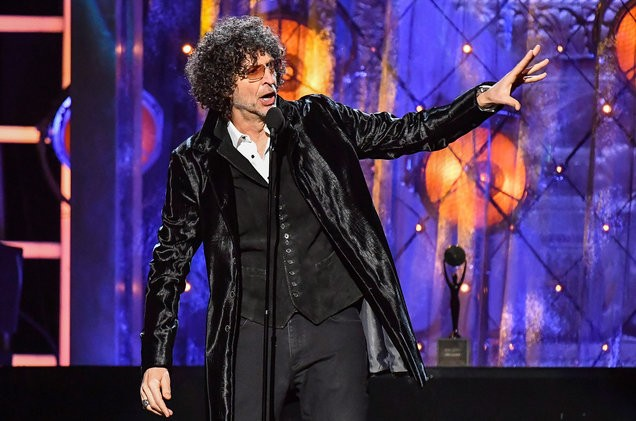 Howard Stern Rock And Roll Hall Of Fame Speech