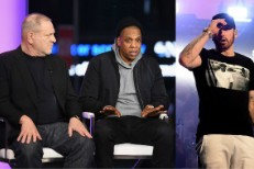 Harvey Weinstein, Jay-Z, and Eminem