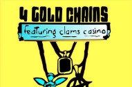 """Lil Peep – """"4 Gold Chains"""" (Prod. Clams Casino)"""