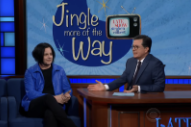 Jack White Sings Extended Commercial Jingles With Stephen Colbert — Watch