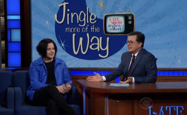 Jack White & Stephen Colbert