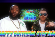 Happy Birthday Stephen Colbert From Everyone Except Run The Jewels