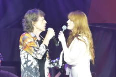 Mick Jagger & Florence Welch