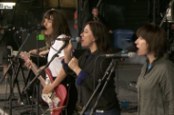 "Watch Courtney Barnett Perform ""Nameless, Faceless"" With The Breeders"