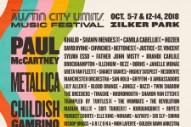 Austin City Limits Festival 2018 Lineup