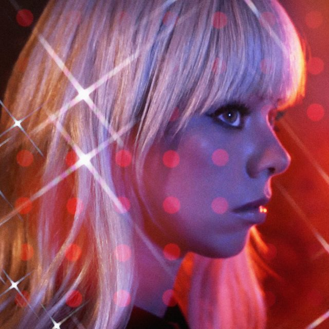 Chromatics Black Walls single artwork