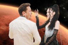 Grimes & Elon Musk