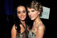 Katy Perry Literally Extended An Olive Branch To Taylor Swift For <em>Reputation</em> Tour Opening Night