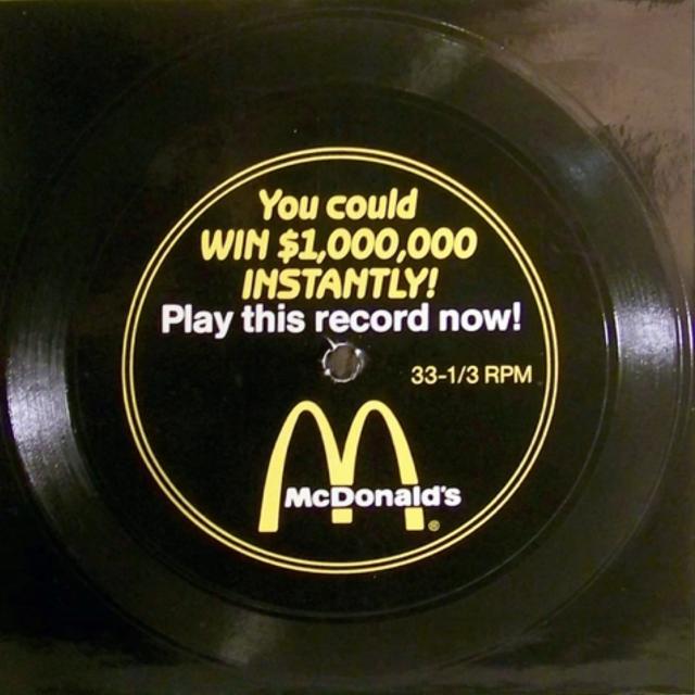 McDonald's Flexi Disc