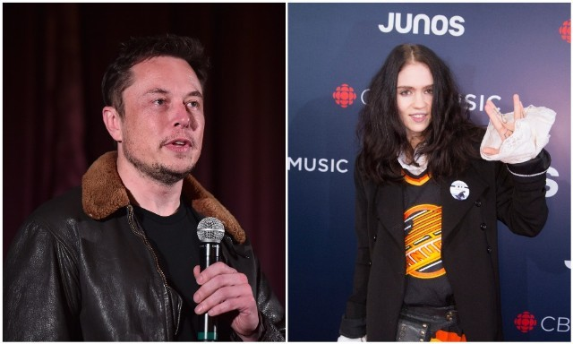 When the world first Met Musk, Grimes together