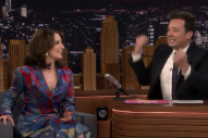 Jimmy Fallon Debuts The Unused Punk Song Tina Fey Asked Him To Write For <em>Mean Girls</em>