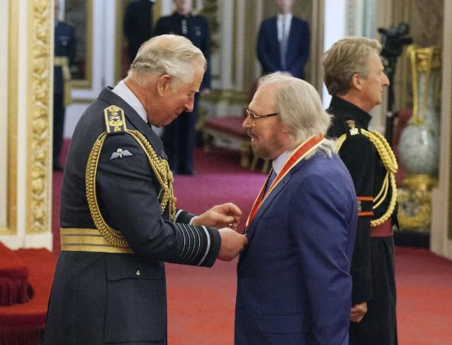 Prince Charles & Barry Gibb