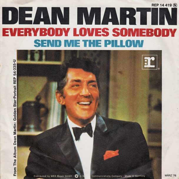 """The Number Ones: Dean Martin's """"Everybody Loves Somebody"""" - Stereogum"""